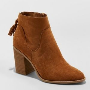 Universal Thread Women's Clare Heeled Booties